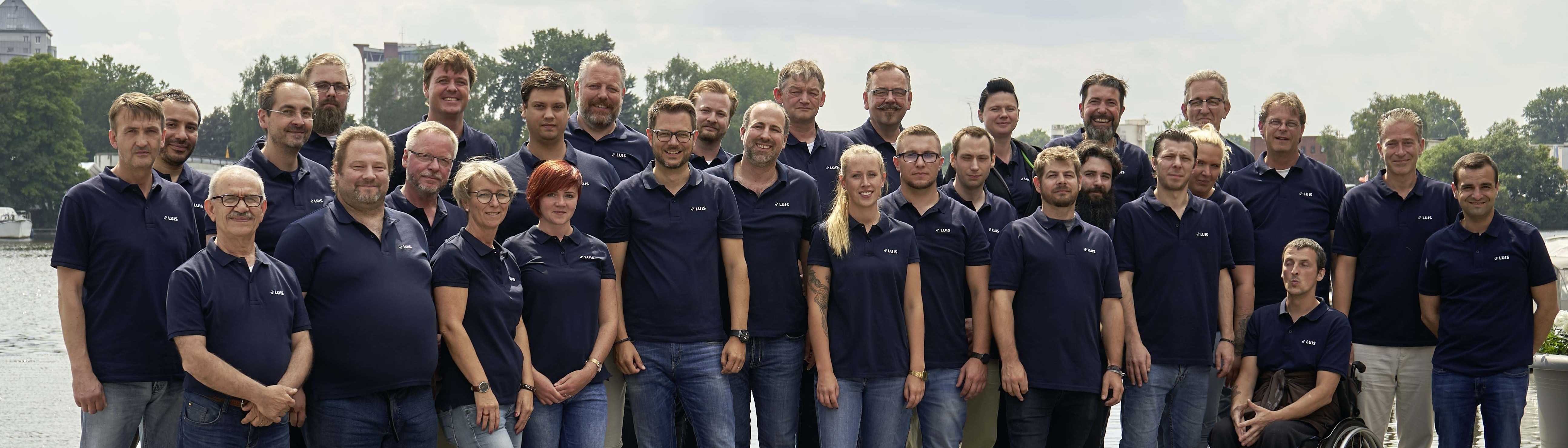 LUIS Technology GmbH - Team-Foto