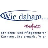 """""""Wie daham…"""" Senioren- und Pflegezentren  Logo"""