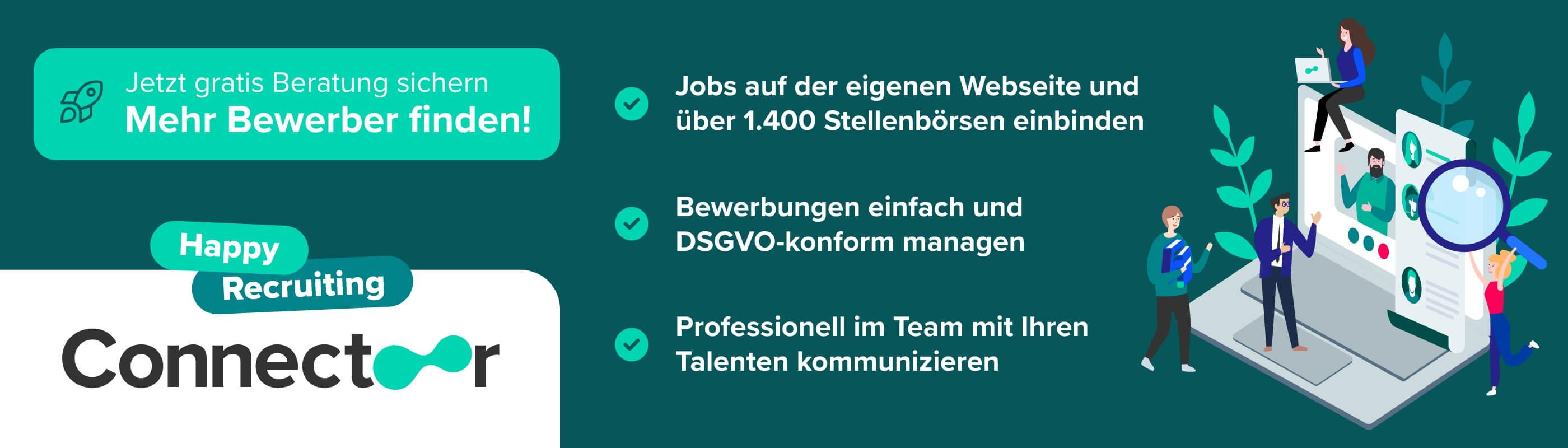 Connectoor - Jetzt informieren!